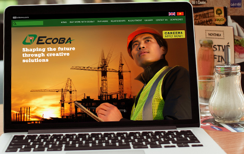 Ecoba website