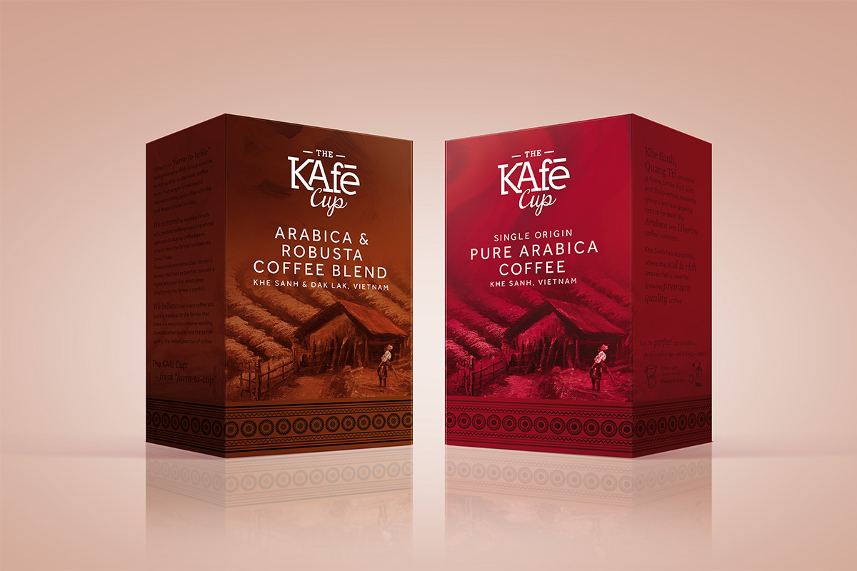 KAfe Cup Coffee Range